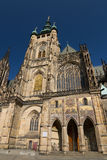 St. Vitus kathedraal in Praag Royalty-vrije Stock Afbeelding