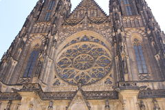 St Vitus kathedraal, Praag Royalty-vrije Stock Foto's