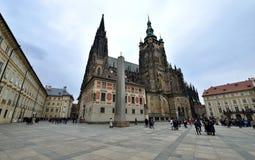 St Vitus kathedraal, Praag Stock Fotografie