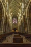 St Vitus kathedraal, Praag Stock Afbeeldingen