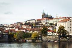 St Vitus Kathedraal in Praag, Tsjechische Republiek Royalty-vrije Stock Afbeeldingen