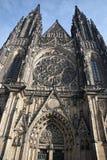 St.Vitus Kathedrale - Prag Stockbild