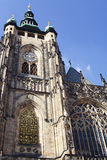St Vitus koepel-ii-Praag Royalty-vrije Stock Foto