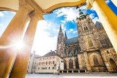 St vitus in Prag lizenzfreie stockfotografie