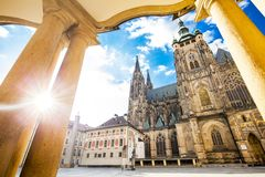 St Vitus in Prague royalty free stock photography