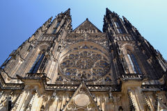 St Vitus in Prague - Czech Republich - Europe Royalty Free Stock Image