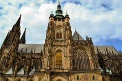St Vitus, Prague de cathédrale photo stock
