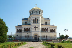 St. Vladimir Cathedral. St. Vladimir Cathedral in Hersonesos. Cremea Stock Images