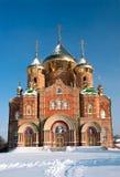 St. Vladimir kathedraal Royalty-vrije Stock Foto's
