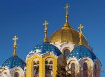 St Vladimir Kathedraal Stock Foto's
