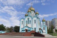 St Vladimir kościół, Kharkiv Zdjęcie Stock