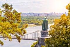 St Vladimir, monument in Kiev Stock Image