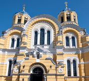 St.Vladimir Orthodox Cathedral in Kiev, Ukraine Stock Images