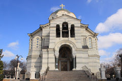 St. Vladimir's Cathedral in Sevastopol city (Crimea) Stock Image