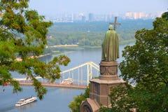 St Vladimir staue. Kiev, Ukraine Royalty Free Stock Photo