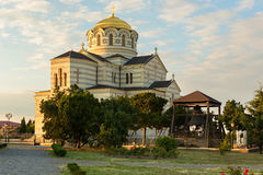 St. Vladimirs cathedral in Chersonesus near Sevastopol Royalty Free Stock Photos