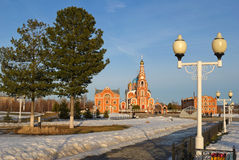 St. Vladimirs Cathedral, Novocheboksarsk Russia. Stock Photo