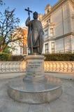 St Volodymyr雕象,伦敦 免版税库存照片