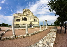 St Volodymyr's Cathedral  in Sevastopol Royalty Free Stock Image