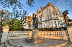 St Volodymyr Statue, Londen Stock Foto's