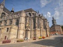 St.-wadrau Kirche Mons Lizenzfreies Stockfoto