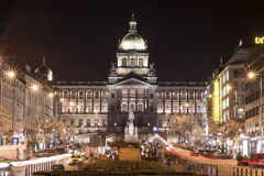 St. Wenceslas square, Prague Royalty Free Stock Photo