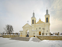 St. Wenceslaus Catholic Church in Vawkavysk. Belarus Royalty Free Stock Image