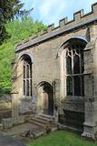 St Winefride chapel building close up,Wales,UK royalty free stock photography