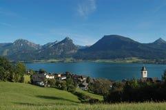 St.Wolfgang beautiful view Royalty Free Stock Image