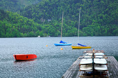 St Wolfgang Lake,Austria Royalty Free Stock Photos
