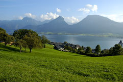 St Wolfgang lake in Austria Stock Photos