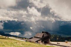 St. Wolfgang Lake. At mountain top of St. Wolfgang lake Stock Image