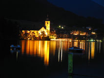 St. Wolfgang on the Wolfgangsee. In Austria Royalty Free Stock Image