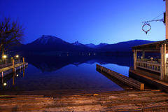 St. Wolfgangsee in Austria Stock Photography