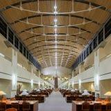 St.-Wolken-Landesbibliothek Lizenzfreies Stockbild