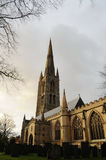 St Wulfram's church and old graveyard in Grantham Stock Photography