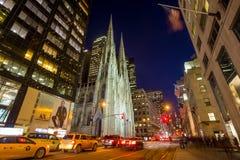 st york patrick s города собора новый Стоковое Изображение