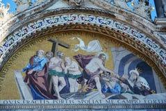 St Zaznacza ` s bazyliki obraz, Wenecja, Włochy Zdjęcia Royalty Free