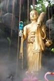 Stać Buddha statuę z chmurą, Tajlandia fotografia royalty free