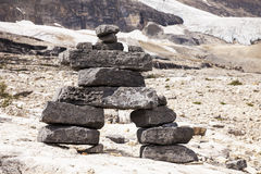 Stać kamień skały kopa Zdjęcie Stock