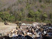 Stała gospodarka odpadami w dowietrznych wyspach zbiory