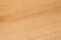 Stały dębowego drewna deski stół, zamyka up Obraz Stock