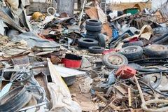 Stały przemysłowy odpady 1 fotografia royalty free