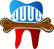 Stały stomatologiczny logo ilustracji