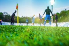 Stażowi gracz piłki nożnej zdjęcia royalty free