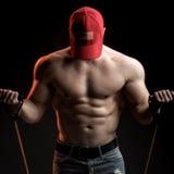 Stażowy mięśniowy mężczyzna Obraz Stock
