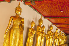 Stać Buddha Fotografia Royalty Free