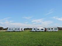 Sta-caravan Royalty-vrije Stock Fotografie