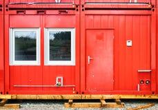 Sta-caravancontainer Royalty-vrije Stock Afbeeldingen