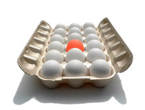 stań eggstraordinary jajeczny, Zdjęcie Stock